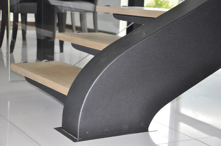 2 escalier design metal bois munch et foucher portes fen tres escalier - Escalier design bois metal ...