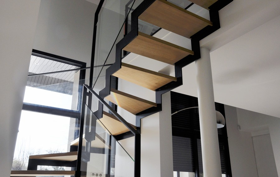 2 escalier double cremailliere munch et foucher portes fen tres escalier portails et. Black Bedroom Furniture Sets. Home Design Ideas
