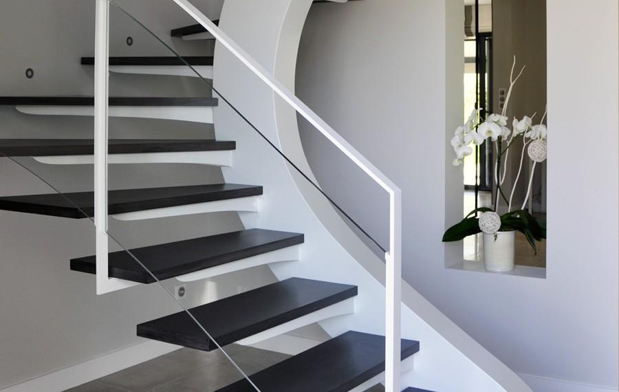 escalier design sur mesure munch et foucher portes fen 234 tres escalier portails et