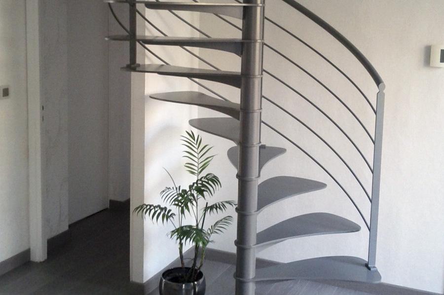 Escalier helice munch et foucher portes fen tres escalier portails et - Escalier helicoidal design ...