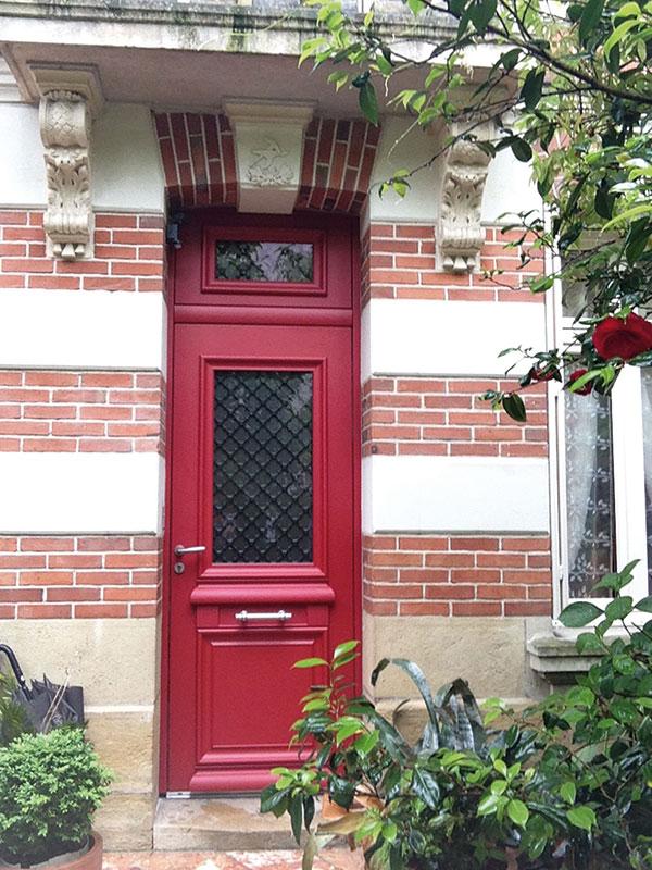 Artisan porte entree 37 - Porte isolante entre garage et maison ...